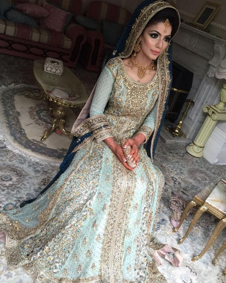 """4,057 Likes, 76 Comments - Lubna Nazir Makeup Artist (@lubna_nazir_) on Instagram: """"Here is the full outfit for my beautiful walima bride. Isn't she stunning?  #walima #bride…"""""""