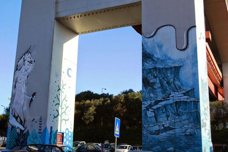 Bridge 25 de Abril pillar