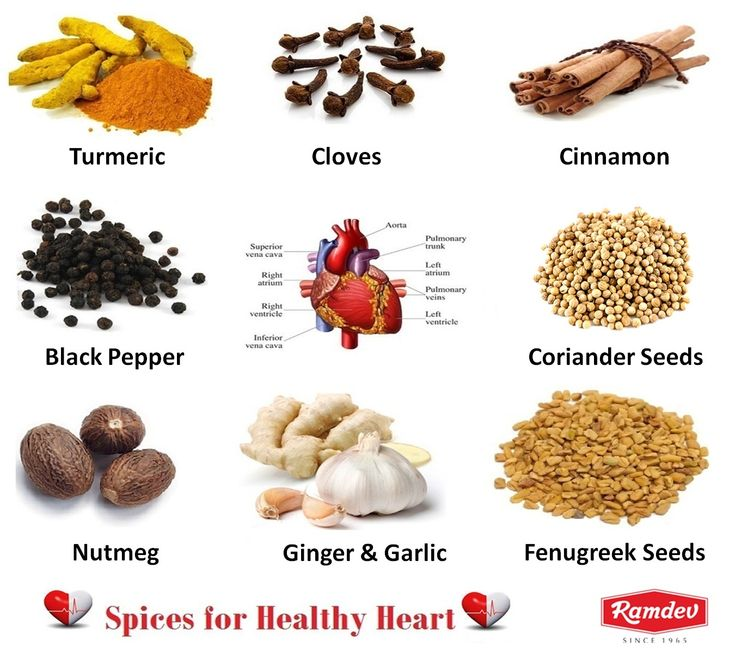Bad cholesterol or Low Density Lipoproteins (LDL) is the major cause of blockage in arteries and heart diseases. Good cholesterol or the High Density Lipoproteins (HDL) aid in removing LDL from the blood stream and prevent blockage in the arteries.  Some of the spices having unique properties of protecting you from heart diseases are Chilli Powder, Turmeric, Coriander, Fenugreek seeds, Black Pepper, Cinnamon, Cloves, Garlic, Nutmeg and Fenugreek Seeds.