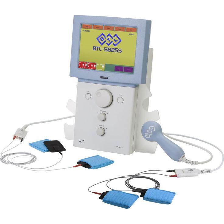 BTL-5825S Combi 3- kanałowy: 2 x elektroterapia - powiększony zakres prądów, ultradźwięk