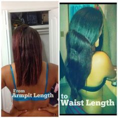 Relaxed Hair Health: Hair Journey Feature | How she achieved waist length in less than two years.