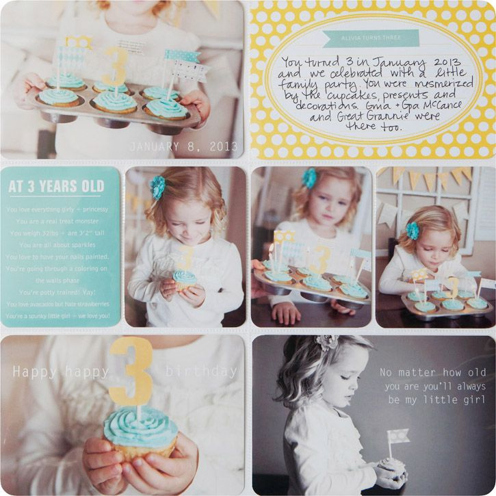 Project Life 2013 + a simple tip for including more of your own Handwriting in your scrapbooks.