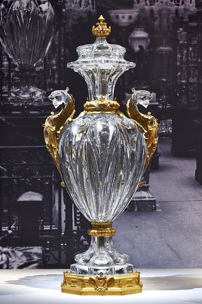 Baccarat celebra 250 anos no Petit Palais, Paris   tempodadelicadeza