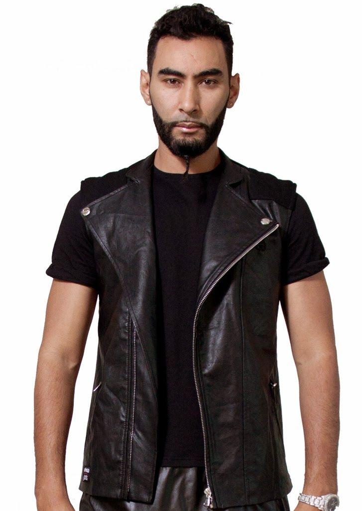 Très en vogue dans la mode streetwear, optez pour les vêtements simili cuir !