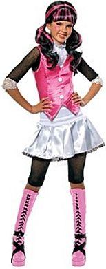 Monster High Draculaura Halloween Costume http://www.partypacks.co.uk/monster-high-draculaura-costume-pid90324.html