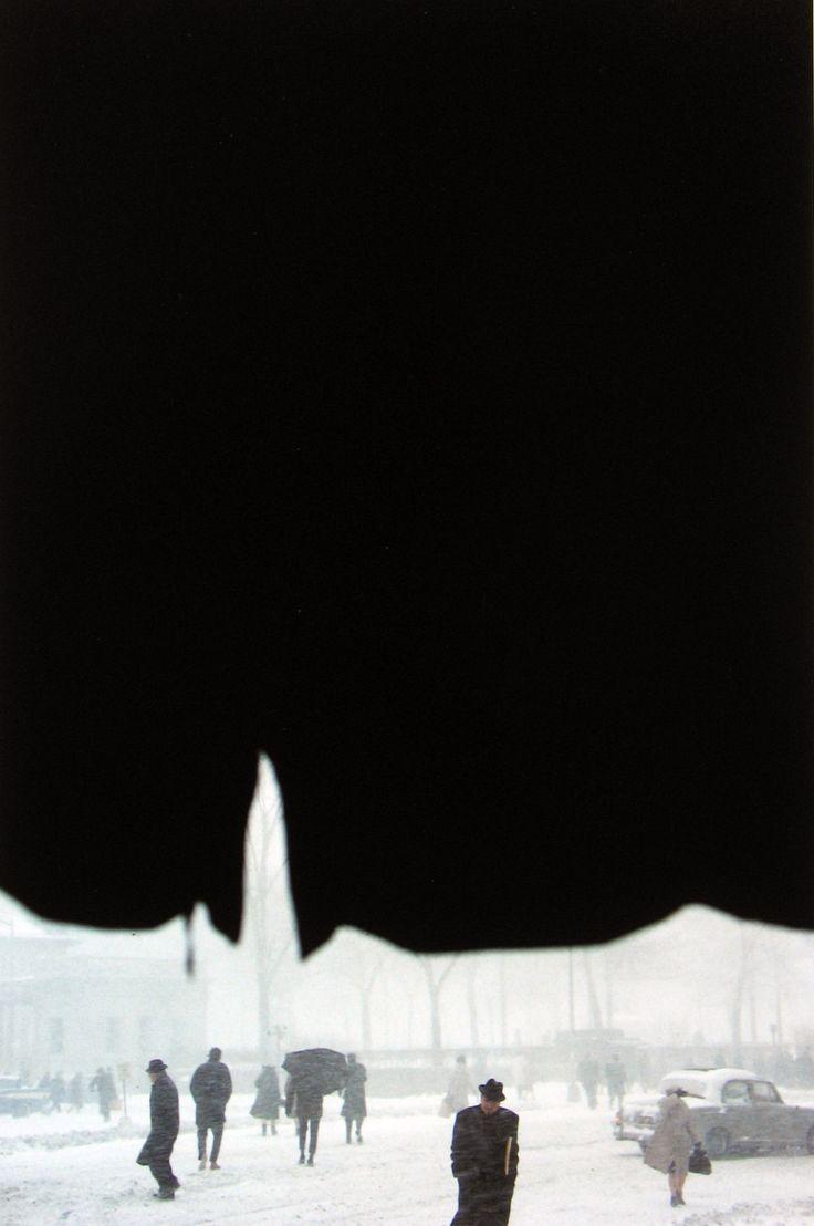 Canopy - Saul Leiter, 1957.