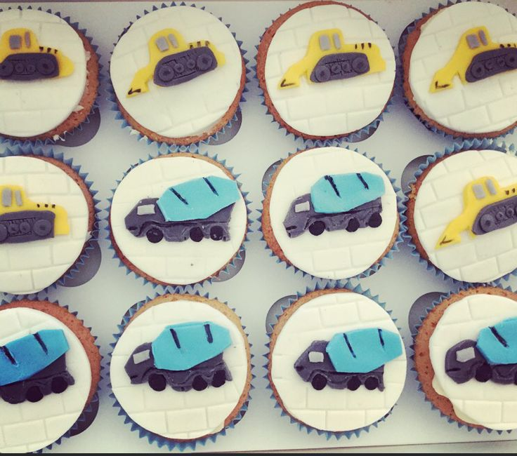 Truckers cupcakes!