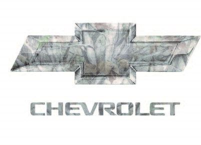 Chevrolet Camo Contour Cut Decal Stickers by LetsPrintBig on Etsy