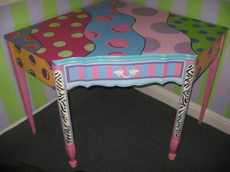 212 best Painted Furniture images on Pinterest Funky furniture