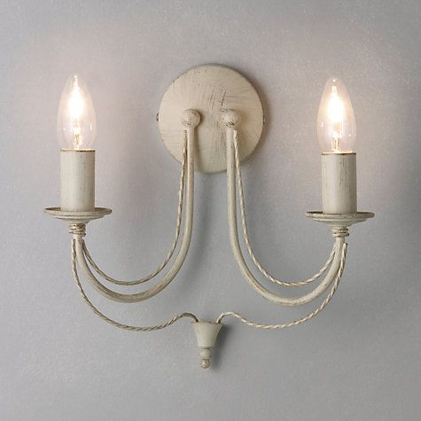 Yasmin Wall Light 2 Arm : Buy John Lewis Jubilee Wall Light, 2 Arm Online at johnlewis.com MATCHING wall lights 40.00 ea ...