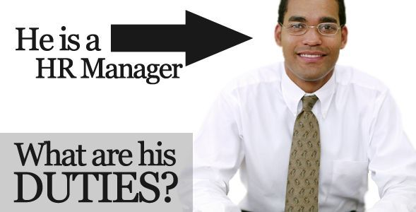 HR Manager Job Description Sample How to Sell Online Pinterest - job description sample