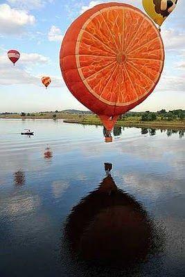 Orange Balloon