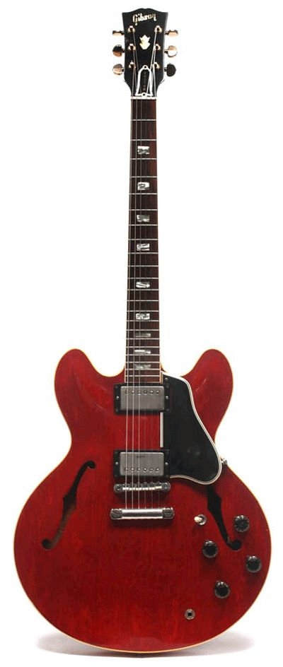 Eric Clapton, 1962 Gibson ES-335.....One of several he owned early on with Cream...