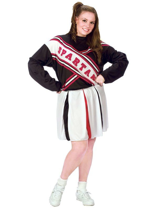 Check out Plus Size Spartan Cheerleader Costume - Wholesale SNL Costumes for Women from Wholesale Halloween Costumes