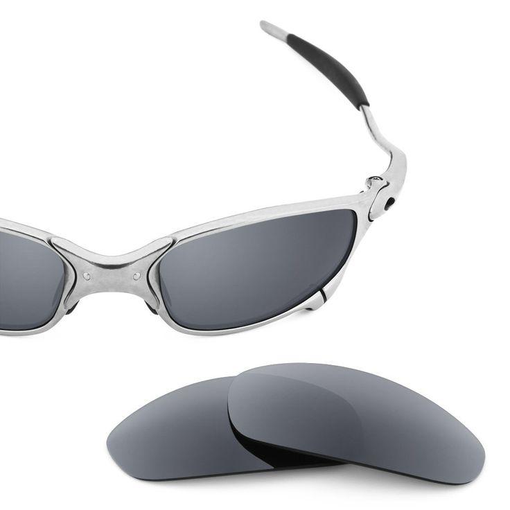 replacement lenses for oakley sunglasses pbcs  Revant Replacement Lenses for Oakley Juliet Polarized Titanium
