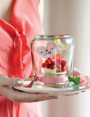 Des muffins aux fruits rouges pour la saint Valentin - Valentine's day recipe - Marie Claire Idées