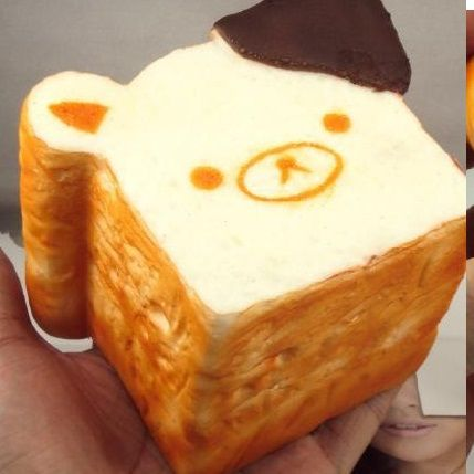 Squishy Loaf Of Bread : sillysquishies.com - Rilakkuma loaf of bread squishy,   USD7.99 (http://www.sillysquishies.com ...