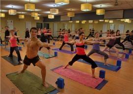 My favorite yoga studio ever: Southern Om Hot Yoga in Greenville, SC