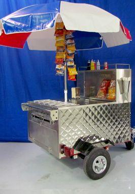 All American hot dog cart