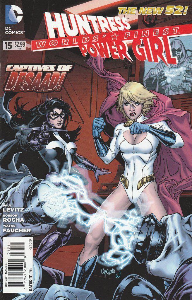 Worlds' Finest # 15 DC Comics The New 52! Vol 3