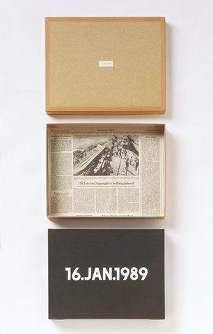 On Kawara - 16.Jan.1989, from the 'Today Series' (1966 - 2014), Walker Art Center