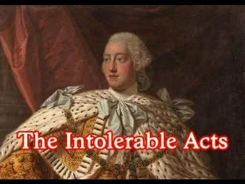http://readingthroughhistory.com/ Everything students need to know about the Intolerable Acts Transcript: The Intolerable Acts. Everything you need to know. ...