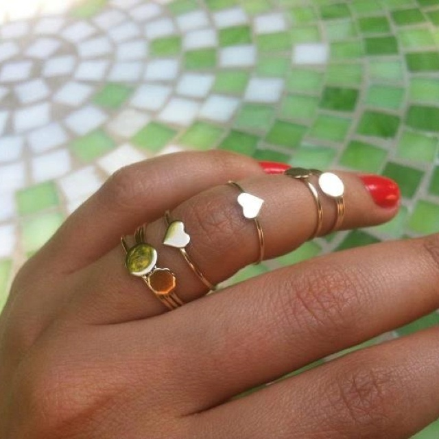 Charm rings