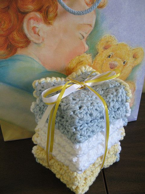 Ravelry: Oh So Soft Baby Washcloths pattern by Theresa Grant