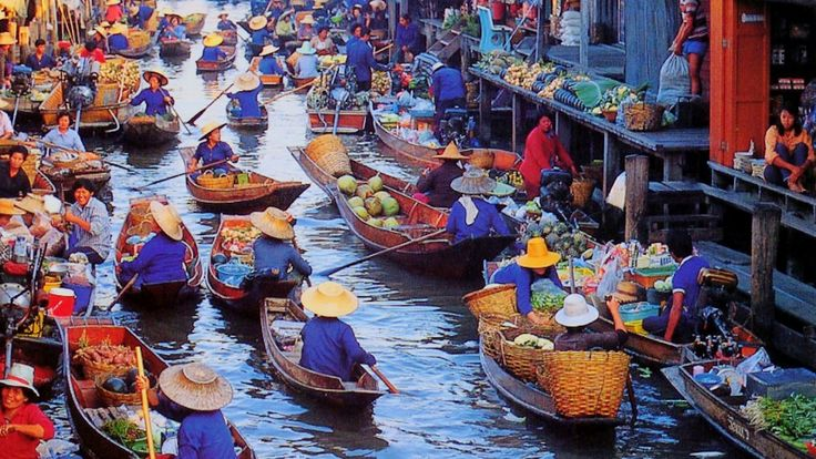 Bangkok is undoubtedly a melting pot of cultures; a beautiful blend of different sights and sounds. Description from paradiseintheworld.com. I searched for this on bing.com/images