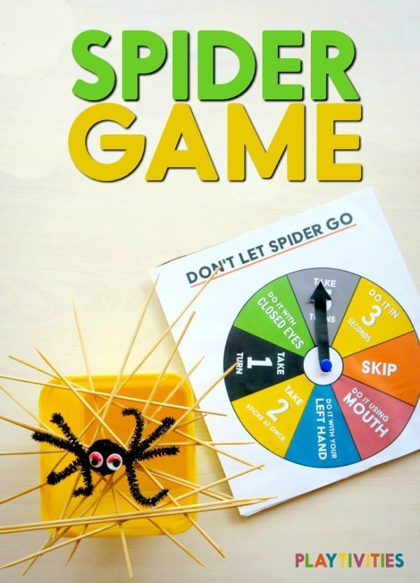 Spider Bowl Game with Printables | by Playtivities