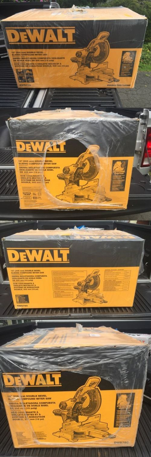 Miter and Chop Saws 20787: Dewalt Dws780 12-Inch Double Bevel Sliding Compound Miter Saw. Free Shipping. -> BUY IT NOW ONLY: $474.99 on eBay!