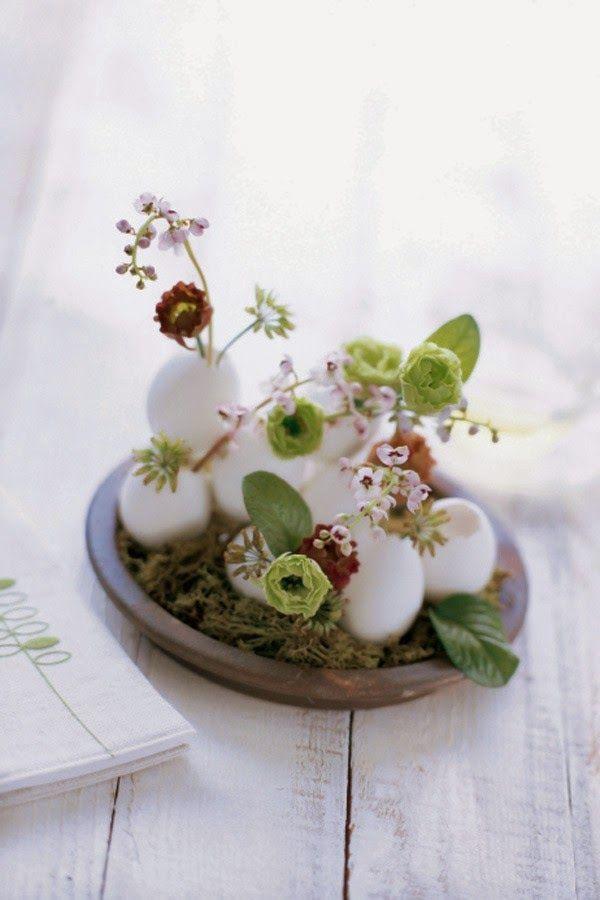 Decoração de Páscoa - Páscoa sem ovos de chocolate - 10 ideias lindas de Páscoa - Gosto Disto!