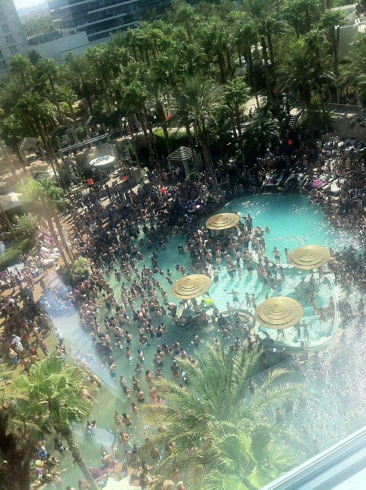 Rehab pool party, Las Vegas