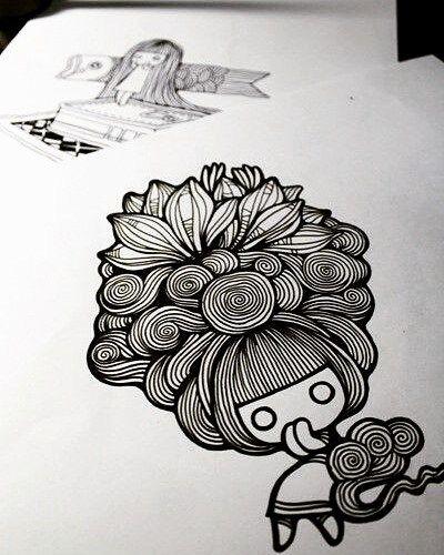 Doodle art, tag your friends.  #doodler #doodlegambar #doodleart #doodle #doodling #art #gambar #seni #cool #cute #love #instagram #like #dobletap
