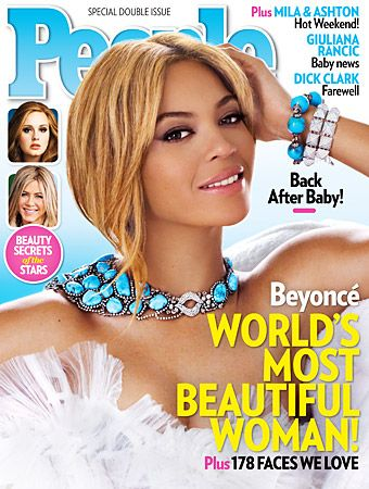 Look who's Queen B! #People Magazine just crowned #Beyonce 2012′s Most Beautiful Woman, and the 30-year-old pop superstar credits her daughter Blue Ivy for her gorgeous glow. http://news.instyle.com/2012/04/25/beyonce-people-most-beautiful-2012/