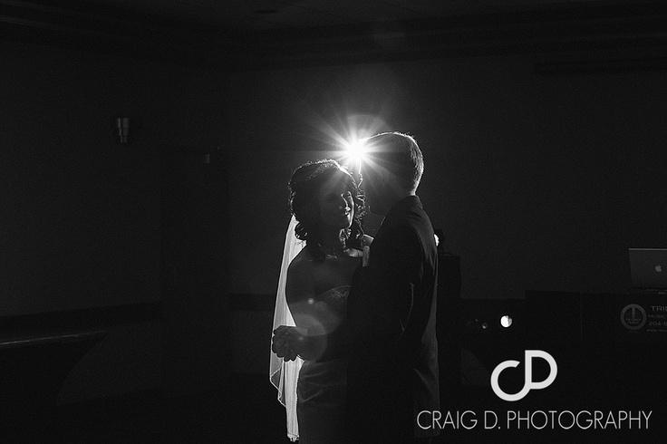 Beautiful couple Jill and Barett, warm up the dance floor.