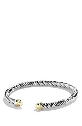David Yurman 'Cable Classics' Bracelet with Semiprecious Stone and Gold | Nordstrom