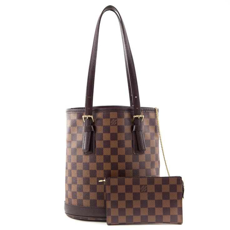Louis Vuitton Damier Ebene Petit Bucket Bag - $975 CAD