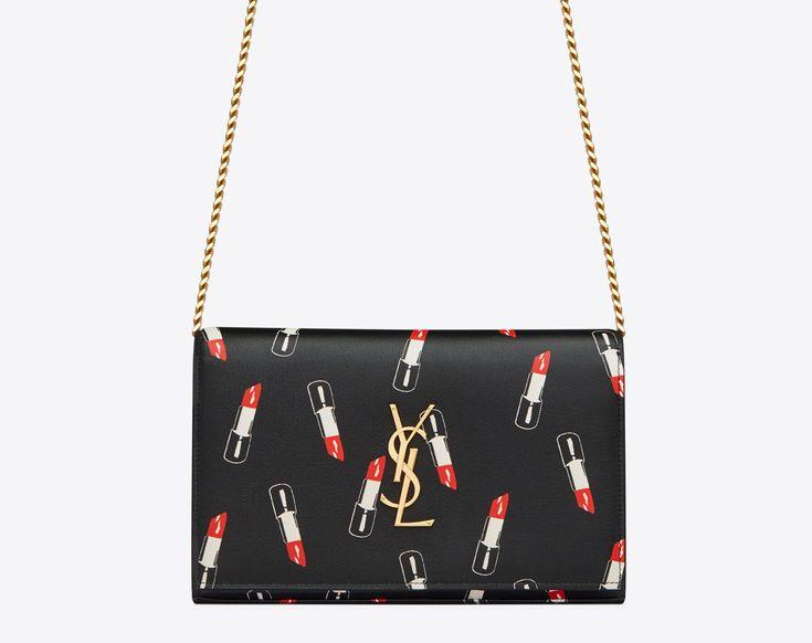 Saint Laurent Lipstick Leather Collection