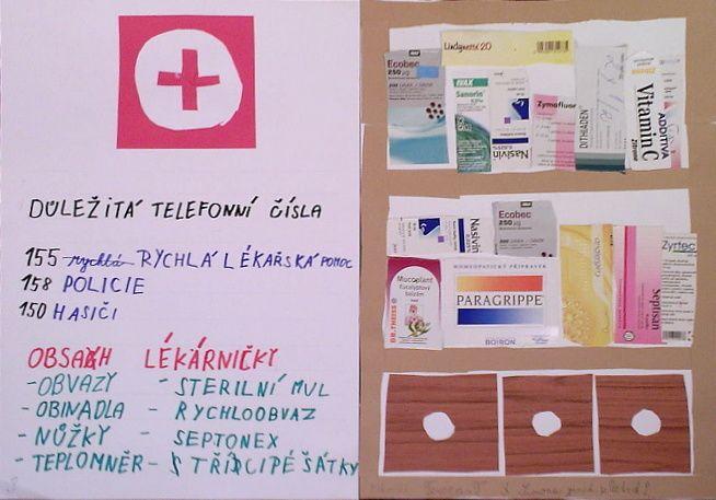 Lékárnička - 2. třída
