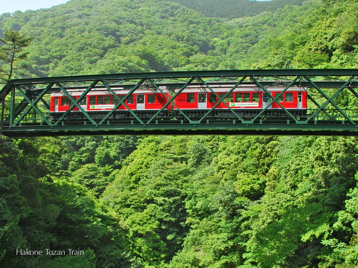 Hakone Tozan moutain train