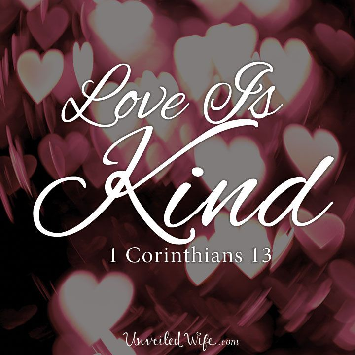 Love Is Kind – What Is Love? – Part 2 --- Love Is Kind Kindness is that warm-hearted motivation that leads one to be nice to others. It is tenderness, understanding, and consideration. Kindness is generosity. To be kind is selflessly aware and willing to help others.… Read More Here http://unveiledwife.com/what-is-love-series-part-2-love-is-kind/ #marriage #love