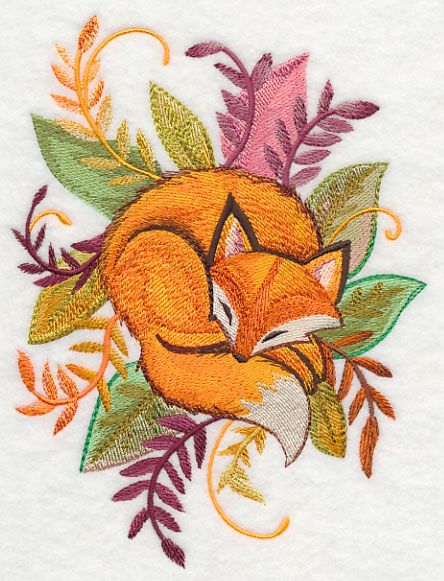 Best ideas about fox embroidery on pinterest