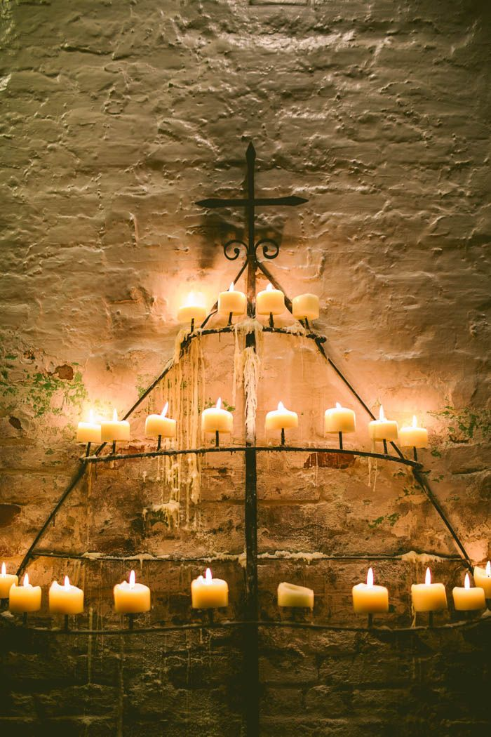 Antique candle holder | Image by Carolyn Scott Photography