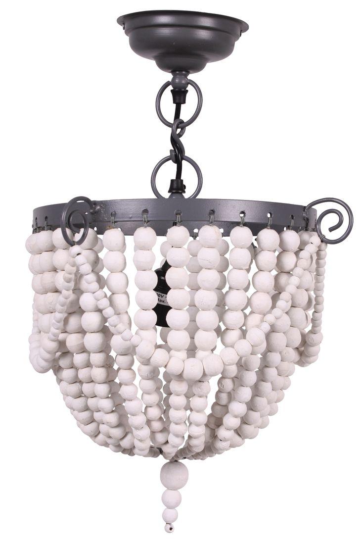 Bead Hanglamp White