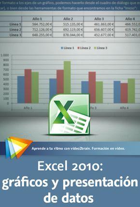 Excel 2010: gráficos y presentación de datos. Realiza informes de aspecto profesional y de gran impacto