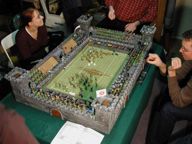 Playing Blood Bowl with style.