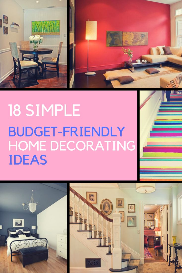 Home decorating ideas 18 diy budget friendly designs budgeting decorating and frugal Diy home design ideas living room software