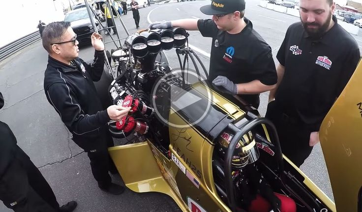 Follow along with Leah Pritchett's team as they prep her 11,000hp Top Fuel dragster for a record setting run.http://www.dragracingscene.com/videos/the-anatomy-of-a-record-setting-run/