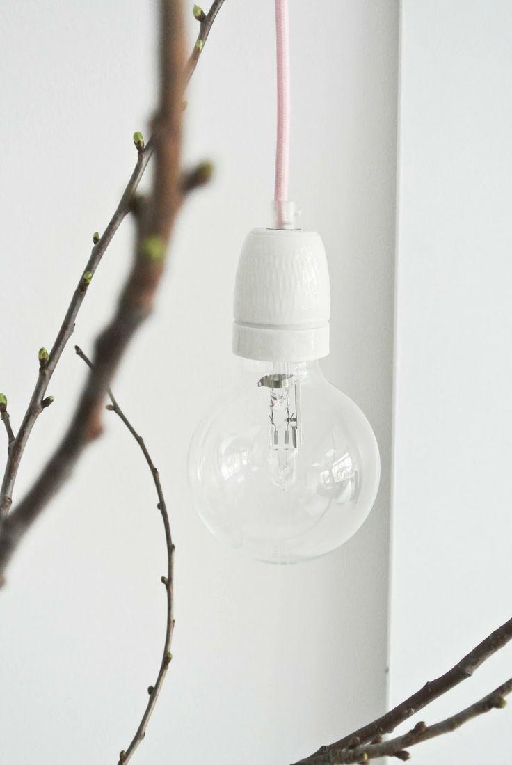 blogpost op Lekker Fris: DIY lamp van snoerboer.nl
